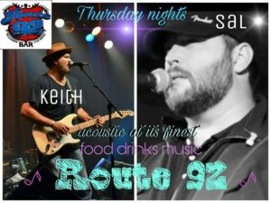 The Thursday Night Throwdown w/ Sal Melancon and Keith Blair @ Route 92